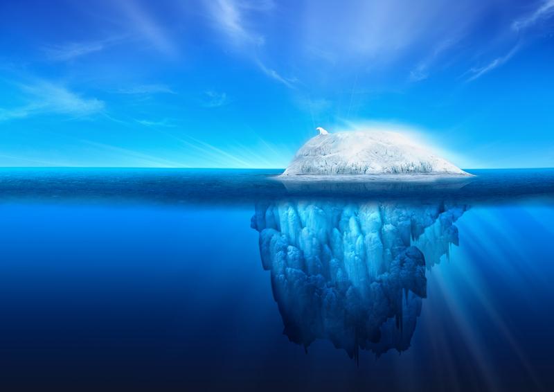 addiktio-jäävuori