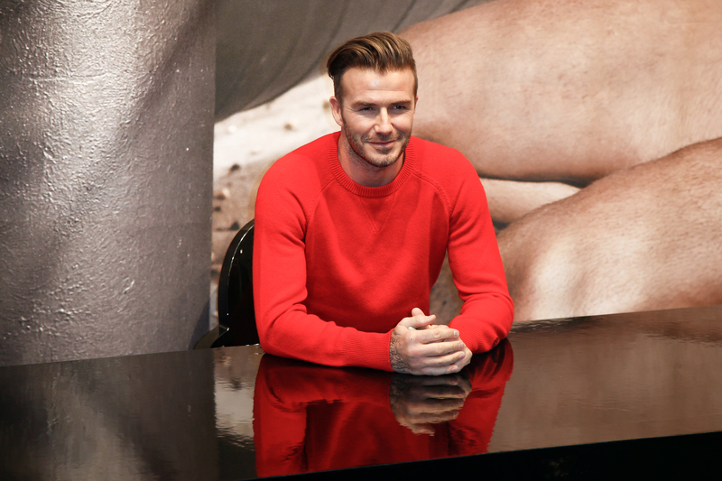 David Beckham on julkkishajuvesien kuningas