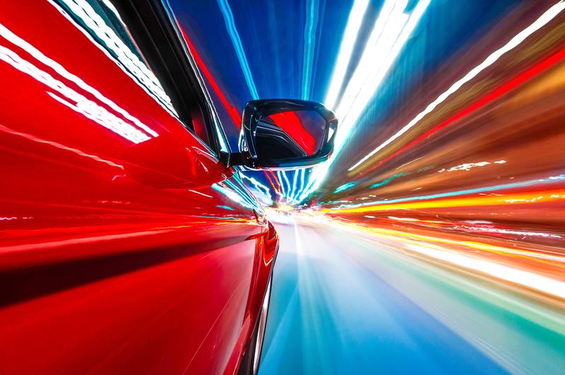 auto moottoritiellä