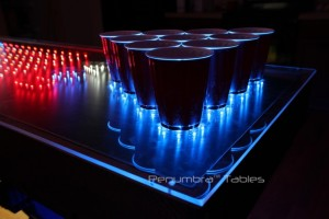 beer pong -pöytä