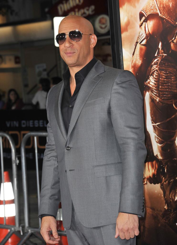 Vin Diesel puvussa