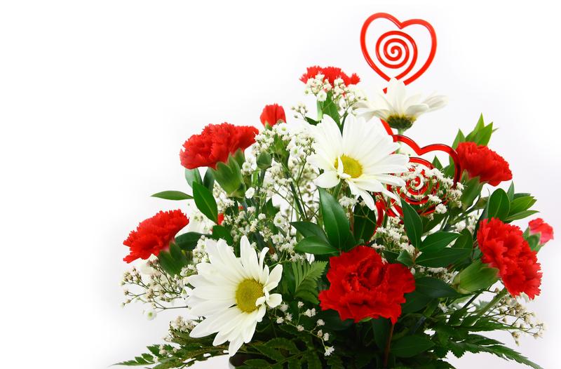 kukkakimppu on hyvä ystävänpäivälahja