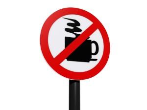 kahvi kielletty