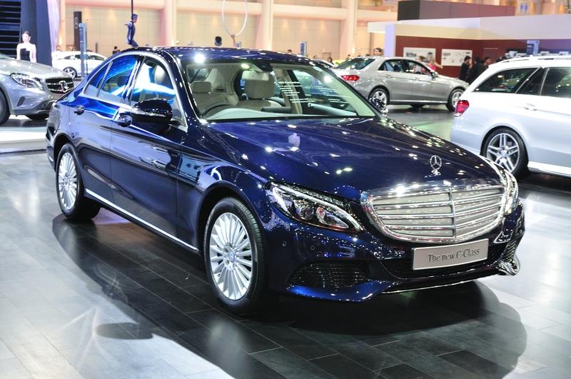 Uusi Mercades Benz C-sarja 2015