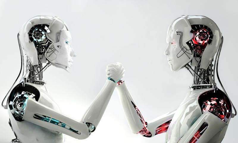 tekoäly ja robotit voivat olla uhka