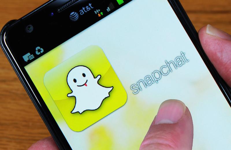 snapchat kerää suosiota
