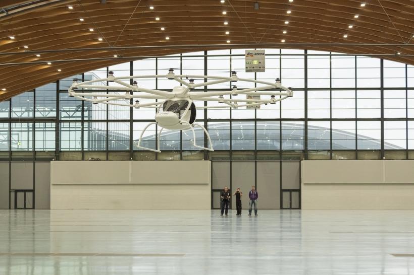 e-volo sähköhelikopteri