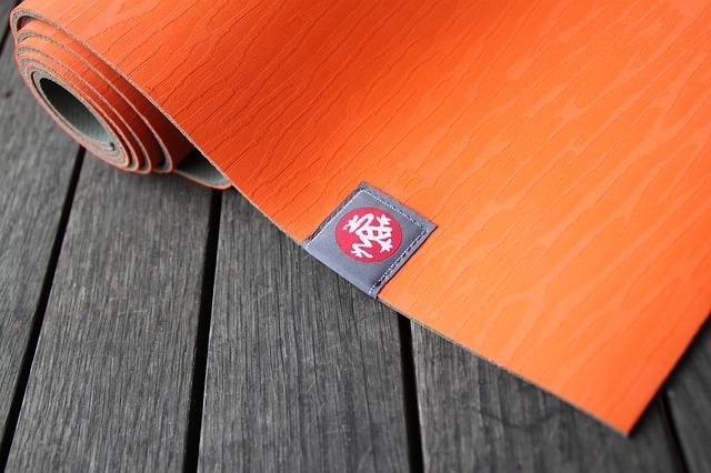 oranssi jooga matto