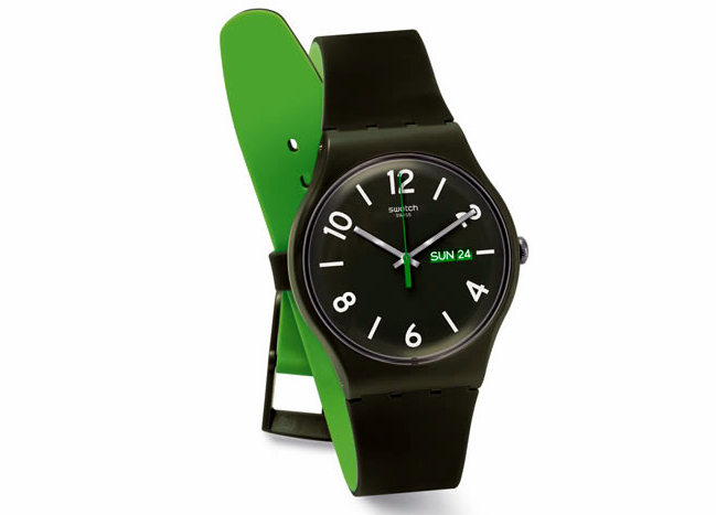 swatch backup kello