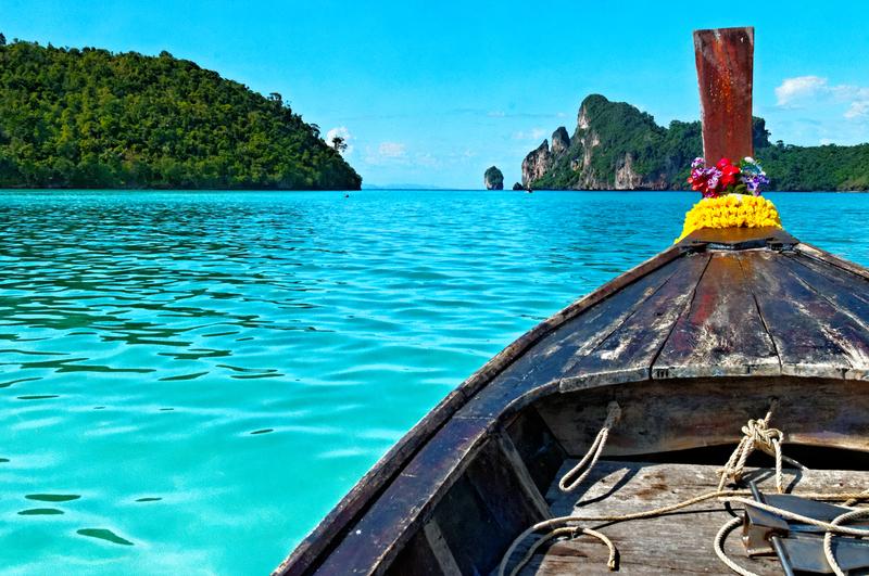 thaimaan turkoosit vedet