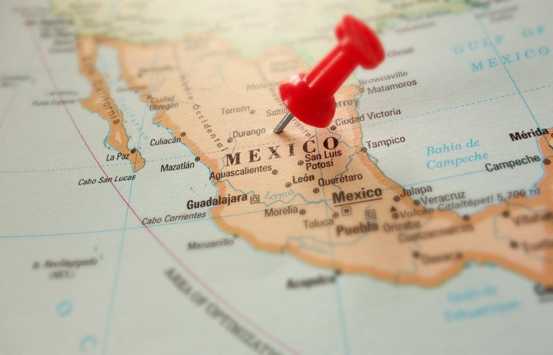 meksiko on klassinen piilopaikka