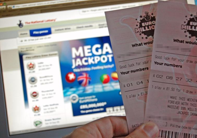 euromillions lottovoitto